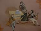 Александр Сергеевич Пушкин на творческом вечере в кругу друзей